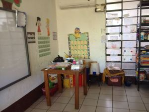 One of the classrooms at DAR