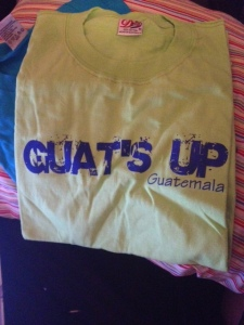 "Really, ""Guat's Up"" is a thing!!!"